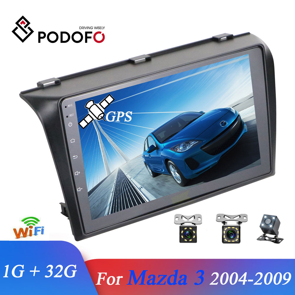 Podofo Car Multimedia player 2 Din 9