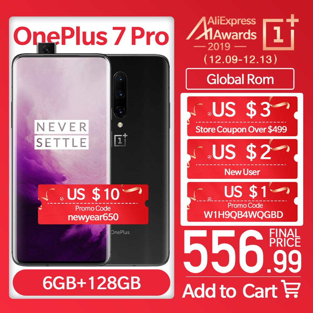 Global Rom Oneplus 7 Pro Unlock Screen Smartphone 6.67