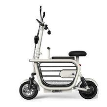 Умный электрический мини скутер с двумя колесами для домашних