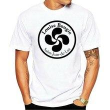 100% algodão o pescoço personalizado impresso camiseta dos homens t camisa lauburu herria basco casaco 3 camiseta das mulheres