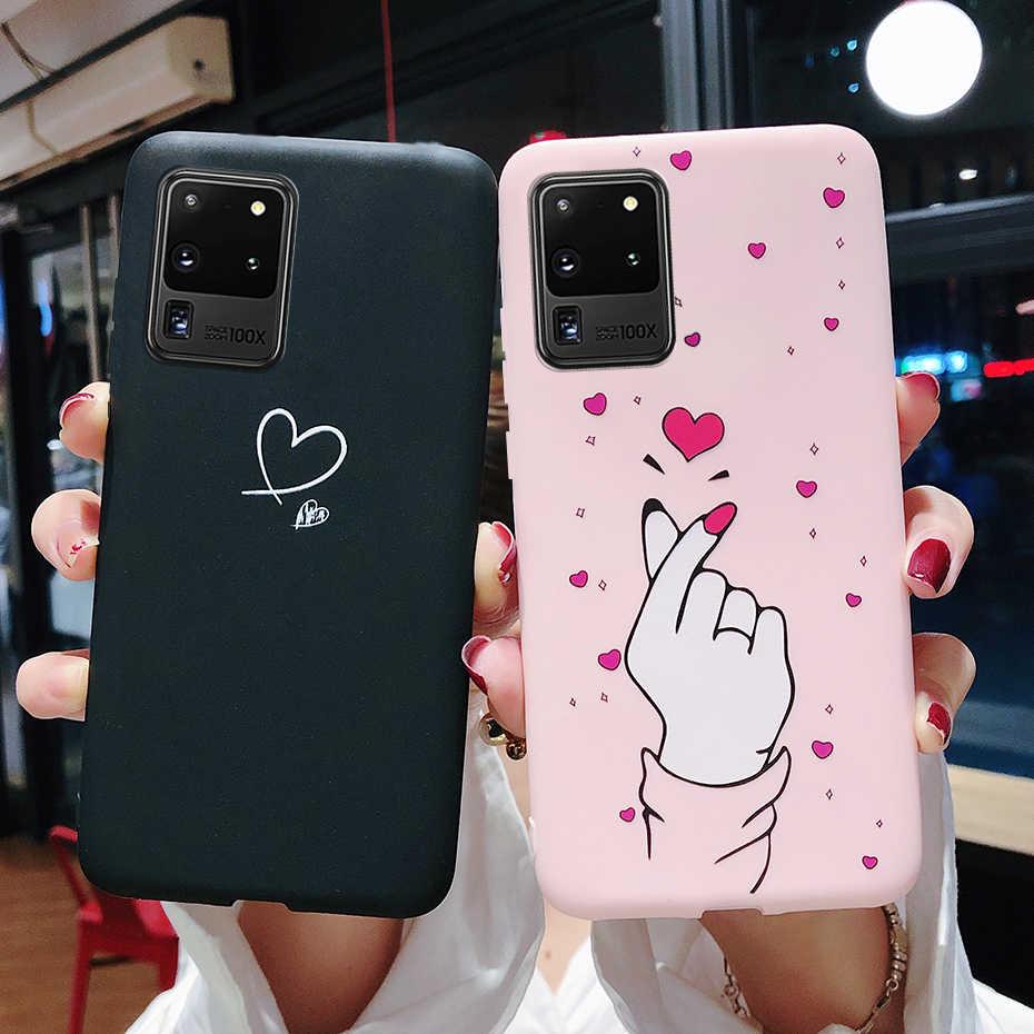 Fall Für Samsung Galaxy S20 S 20 Ultra Plus Silikon Malerei nette Soft Slim Fall Abdeckung Für Samsung S20 Plus ultra-Phone Cases