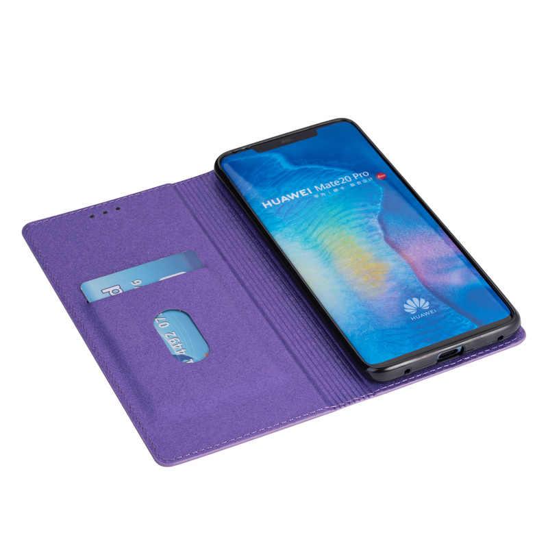 Glitter Bling etui z klapką do Huawei P30 P20 Pro Mate 20 10 Lite skórzany portfel etui do Huawei P smart 2019 Y6 2019 Y7 okładka Capa