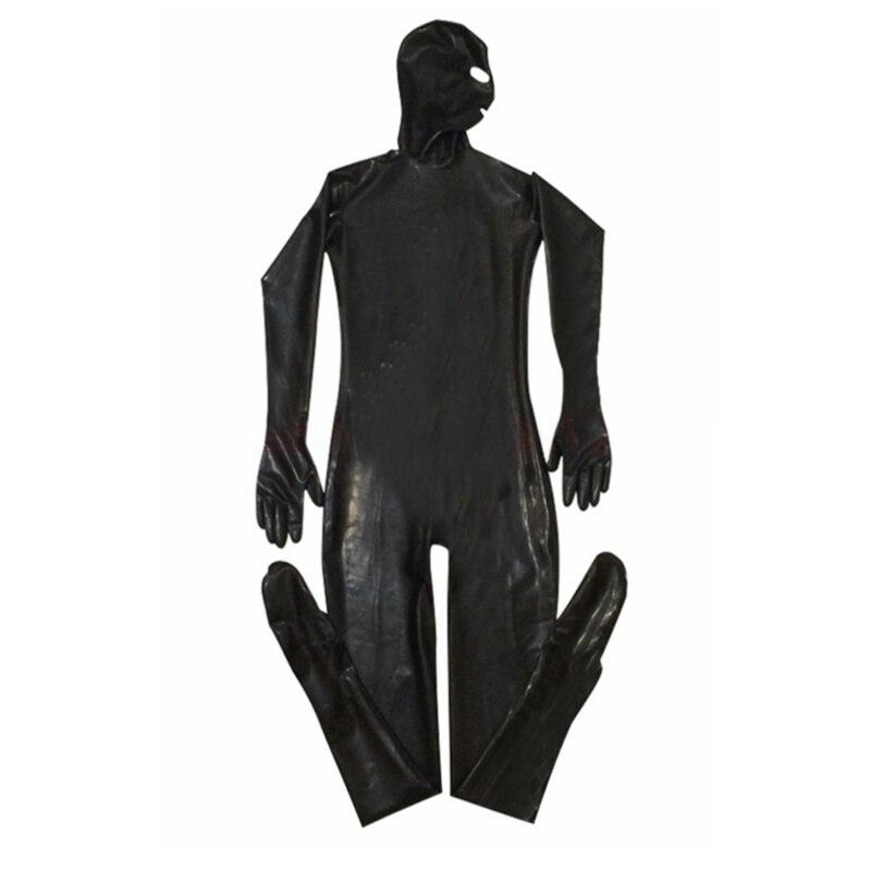 Men Male Latex PVC Catsuit Plus Size 3XL Sexy Wetlook Faux Leather Night Club Full Bodysuit Gay Fetish Erotic Leotard Jumpsuit 4