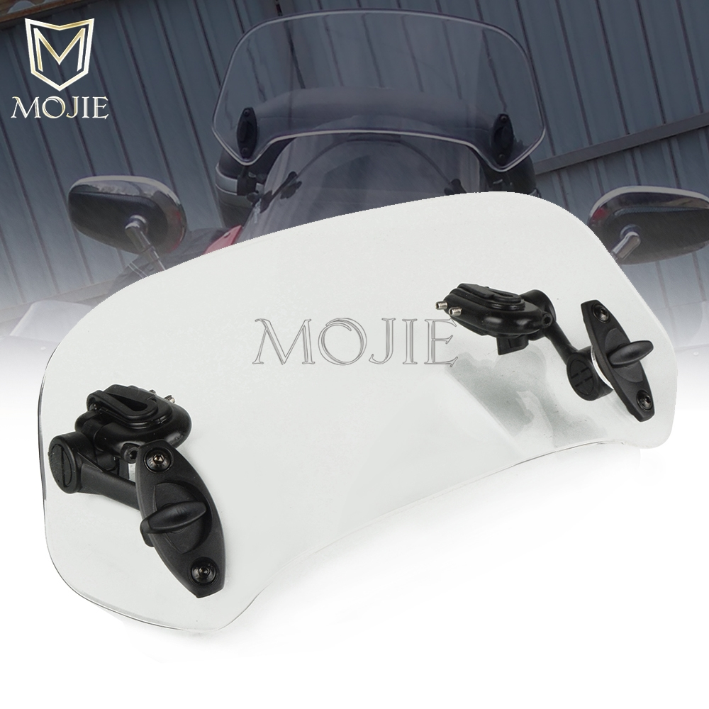 Motorcycle Windshield Extension Spoiler Windscreen Air Deflector For Honda CBR 250 R RR CBR300R/CB300F/<font><b>FA</b></font> CBR <font><b>400</b></font> R RR 500R image
