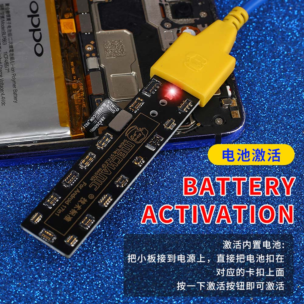 MECHANIC Battery Activation Charging Panel For iphone 5-11 Pro/Max And Android Mobile Phone DC Power Supply Activation Board 4