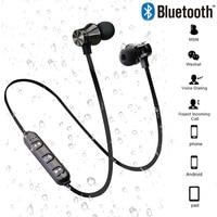 Auriculares inalámbricos con Bluetooth V4.2-auriculares magnéticos, inalámbricos por Bluetooth, estéreo, con micrófono, Deportivos