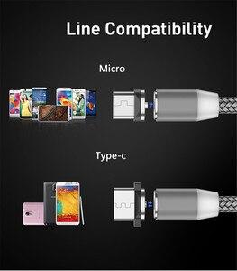 Image 2 - Cable magnético tipo USB C para móvil, Cable de carga rápida Micro USB para Huawei Y3 Y6 Y5 2017 II A7 J2 PRO 2018 Grand prime pro G530