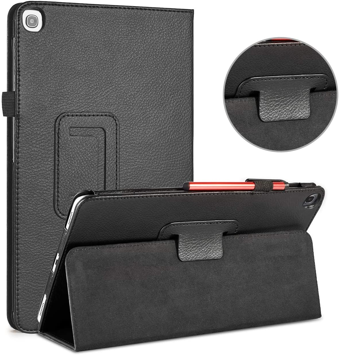 For Samsung Galaxy Tab A 10.1 Case 2019 PU Leather Magnetic Flip Cover For Samsung Galaxy Tab A 10.1'' SM-T510 / SM-T515 Tablet