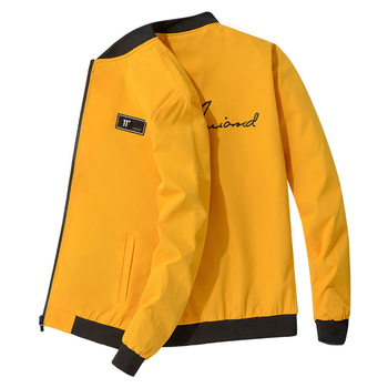 2020 Fashion Men Bomber Jacket Slim baseball Jackets Zipper Windbreaker Jacket Male Printed Brand Clothing Male Casual Coats patched printed bomber jacket
