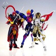Figuras de acción de COMIC CLUB, juguetes en stock, Dasin TenKuu, Senki, Shurato, Kuroki, Gai, Leiga, nordina, armadura de metal