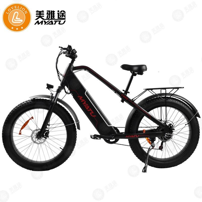 [MYATU] Electric bike 20inch Aluminum Folding electric Bicycle Powerful 48V Battery Mountain ebike Snow/beach/city e bike