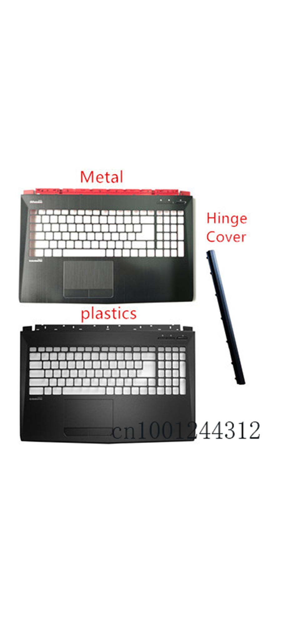 New Original For MSI GP62 GL62 GP62MVR MS-16J9  Palmrest Upper Case Keyboard Bezel Cover / Hinge Cover