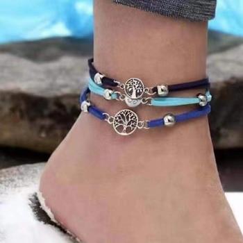 20 Styles Women Girls Mix Round alloy Crystal Marble Charm Bracelets Fashion Boho Heart Shell Letter Bracelets Sets Jewelry Gift 11