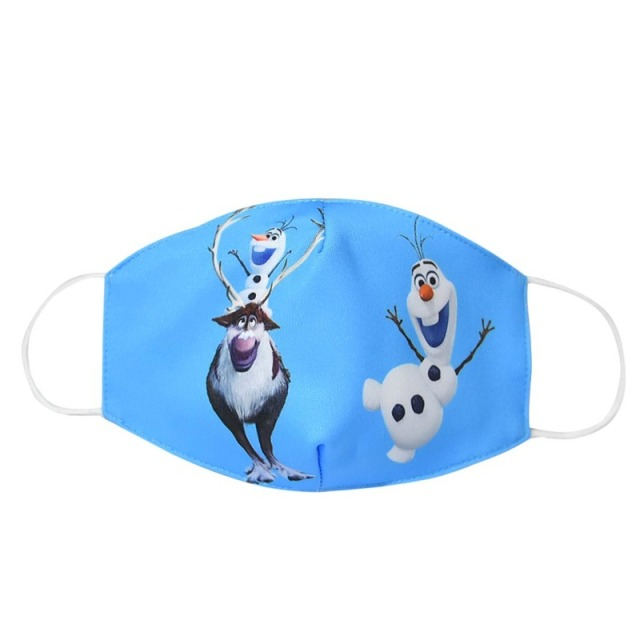 2020 Washable Snowman Mouth Face Mask Men Women Kids Adult Cartoon Cotton Anti Dust Protection K-POP Reusable Masks ZXT232 2