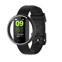 AMS-E99 Смарт-часы браслет пульсометр спящий монитор фитнес-трекер наручные спортивные подключаемые к телефону часы для смартфона