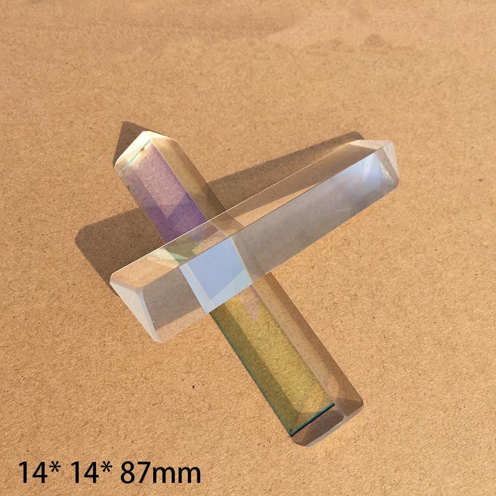 Optical Glass Triprism Student Creative Rainbow Photography Refractive Mirror  Mitsubishi  Artificial