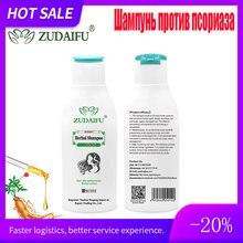 120ML Zudaifu sedef egzama bitkisel Ginseng saç bakım şampuanı Mite büyüme ve RemovalCare onarım saç antibakteriyel Serum