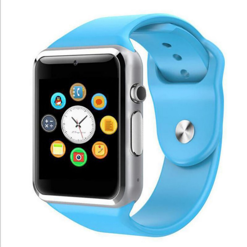 A1 Smart Call Watch Sport Pedometer Bluetooth App Pushing Waterproof Message Call Reminder For Men Women image