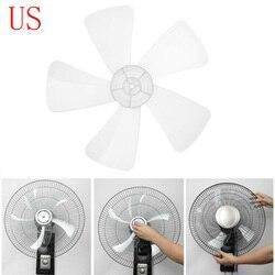 16 pouces en plastique ventilateur lame cinq feuilles pour piédestal debout ventilateur Table Fanner général remplacement ventilateur accessoires ménagers