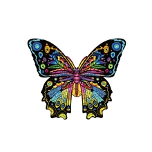 Butterfly Puzzle Family Playgames Animals Shaped Puzzles Family Game Play Butterfly Puzzle Assembly Puzzle Jigsaw for Fun DXAD