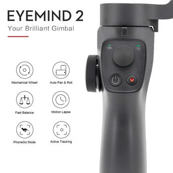 Newest 3-Axis Handheld Smartphone Gimbal Stabilizer, Vlog Youtuber Live Video Record Stabilizer Compatibe With IPhone Samsung