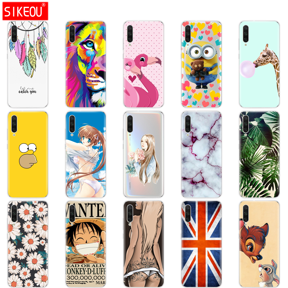 silicone <font><b>Cover</b></font> For <font><b>Xiaomi</b></font> <font><b>MI</b></font> <font><b>A3</b></font> Case Full Protection Soft tpu Back <font><b>Cover</b></font> Phone Cases For Xiomi <font><b>MI</b></font> <font><b>A3</b></font> bumper Coque image
