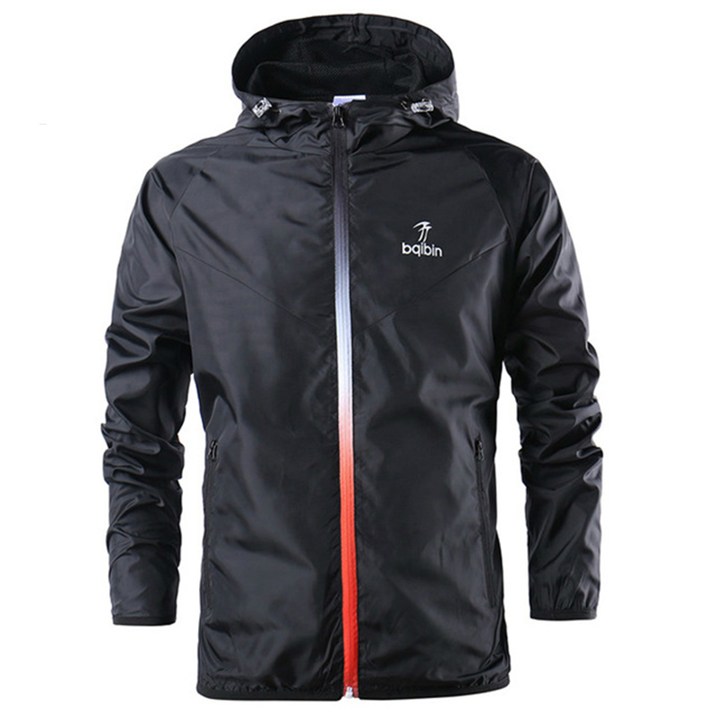 New Clothes Spring Autumn Mens Fashion Outerwear Windbreaker Men' S Thin Jackets Hooded Casual Sporting Green Coat Big Size