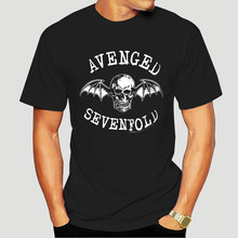 Vintage 2006 Avenged Sevenfold Hemd Sz M Black Rock Metall Musik Band 2000s-4178D