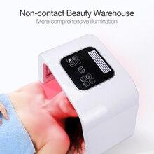 Профессиональный Фотон PDT светодиодный светильник маска для лица машина 7 цветов лечение акне отбеливание лица Омоложение кожи светильник терапия