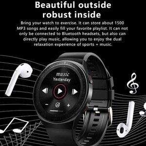 Image 2 - MT3 Âm Nhạc Thông Minh 8G Nam Cuộc Gọi Bluetooth Full Màn Hình Cảm Ứng Chống Nước Chức Năng Ghi Âm MT2 MT 3 Thời Trang Đồng Hồ Thông Minh Smartwatch