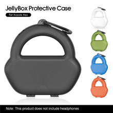 Portable Storage Bag For AirPods Max Pouch Case With Earpad Covers Storage Pouch For AirPods Max Bag Earphone Handbag Cover