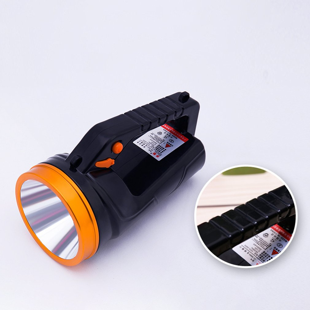 50W Handheld Super Bright Searchlight LED Handheld Portable Spotlight Rechargeable Flashlight Outdoor Light