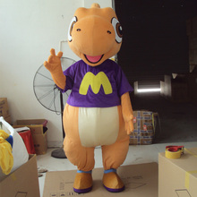 Dragon Dinosaur Mascot Costume Fancy Cosplay Mascotte for Adults Gift Halloween Carnival party