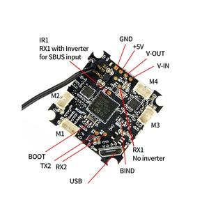 Image 4 - Happymodel Mobula7 موبولا 7 قطع الغيار استبدال كرازي بي F4 برو وحدة تحكم في الطيران SE0802 1 2S 16000KV 19000KV CW CCW موتورز