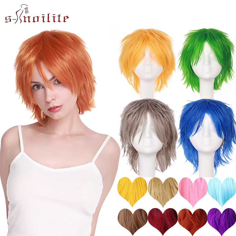 US $7.85 31% OFF|S noilite Synthetic Wigs