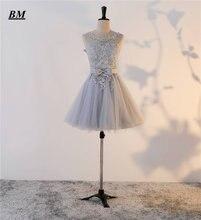Недорогие Новые короткие платья для встречи выпускников bm 2019