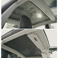 Model 3 Glass Roof Sunshade Sunroof Rear Window Sunshade Compatible for Model 3 (top roof+ Rear)