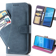 Flip Book Case For Samsung S10 PLUS S10e lite PU Leather Stand Wallet S8 S9 NOTE9 Cover Conque