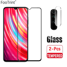 Tempered Glass For RedmiNote9 9Pro Note8 Note8T Note8Pro Note7Pro  lens film Screen Protector Toughened Film and lens film