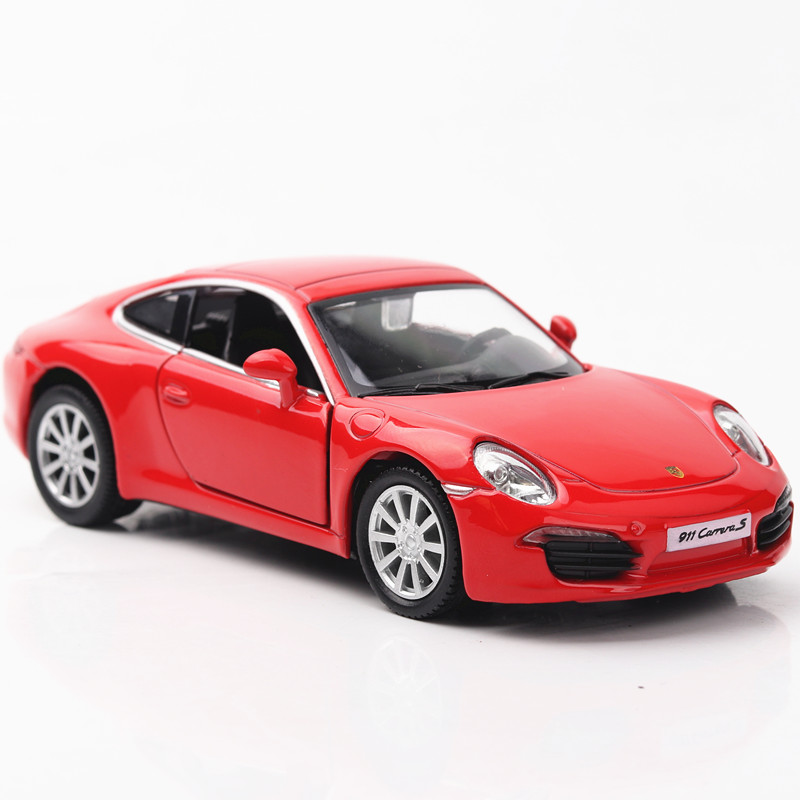 1/36 Licensed Car Model CH554010 Sport Car911 DieCasts Small Car 5 Inch 2 Open Doors No Lights&Sounds Collective
