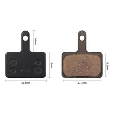 цена на 5 Pairs Bicycle Resin Disc Brake Pads for Shimano M375 M395 M416 M445 M446 Durable Bike Accessories Tools Outdoor Riding Tools