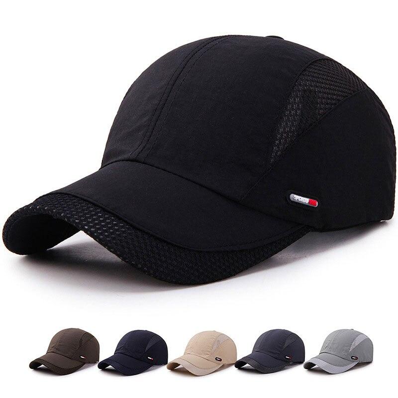 Кепка для мужчин и женщин, Кепка с изогнутым солнцезащитным козырьком, легкая, с буквенным принтом, сетчатая бейсболка, Мужская кепка для улицы, шляпа от солнца, регулируемая Спортивная Кепка s на лето|Мужские бейсболки|   | АлиЭкспресс