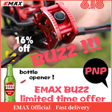 Official EMAX BUZZ Freestyle Racing Drone PNP 1700kv /2400kv Motor 4 6s Frsky Frame kit Quadcopte FPV Camera For  Rc Airplane