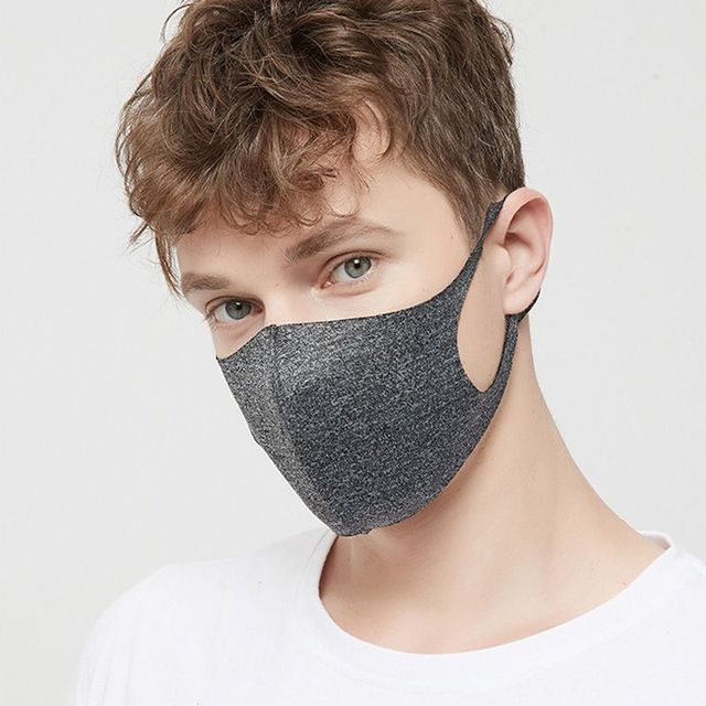 Thin Style Summer Face Shield mask Face Mask Breathable Reusable Anti Pollution Mouth Cover