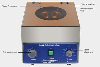 220V 80-2 laboratory bench low speed centrifuge electric medical centrifuge 4000rpm 12 x 20ml 0-60 minutes timing
