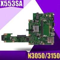 X553SA Motherboard N3050/3150 U For ASUS A553S A553SA F553S F553SA X553S laptop Motherboard X553SA Mainboard X553SA Motherboard