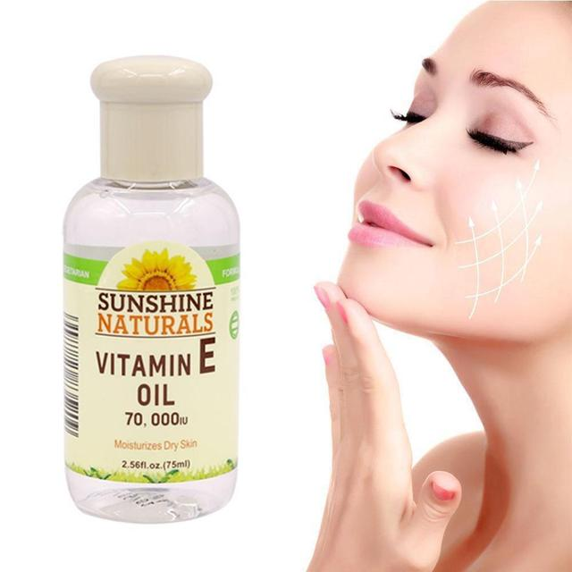 75ml Natural Oil Pure Organic Anti-Aging Day And Night Serum Natural Face Essential Oil Oil E Vitamin Essential 1