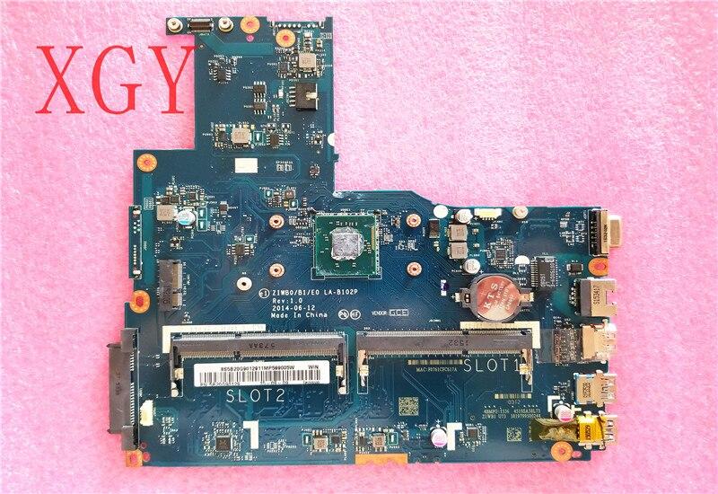Оригинальная ZIWB0/B1/E0 LA-B102P материнская плата для ноутбука apto para Для lenovo B50-30 B40-30 SR1YW cpu 100% ТЕСТ ОК