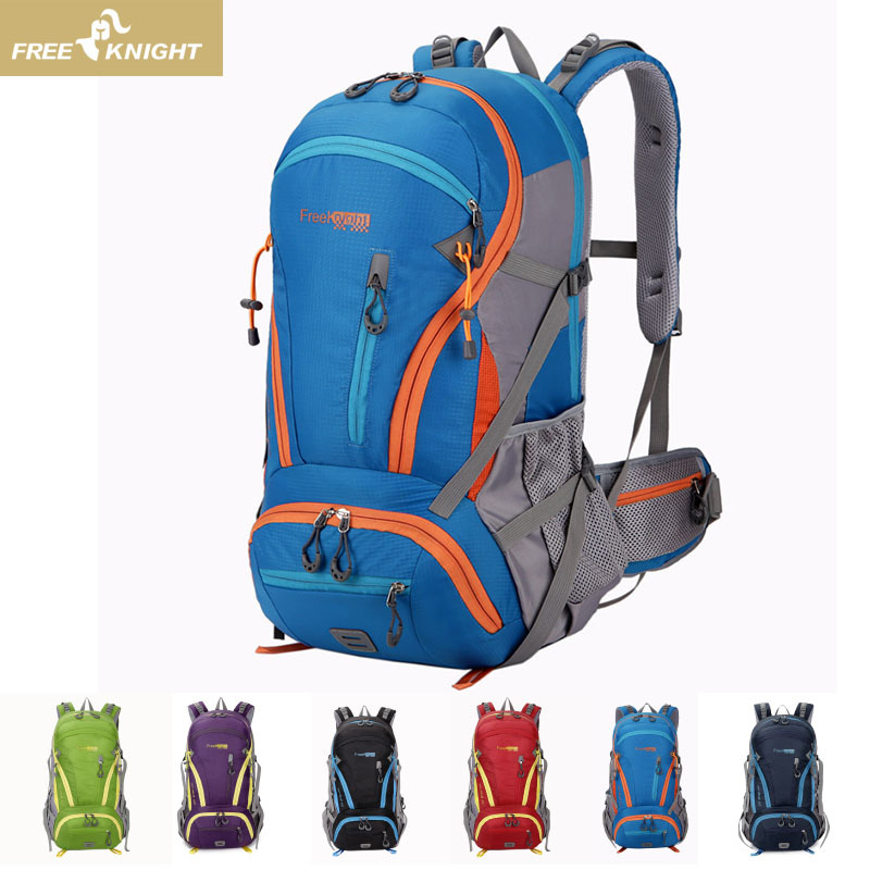2019 New Outdoor Sports Backpack Mountaineering Bag Backpack 45L Travel Bag Men And Women Large Capacity Camping