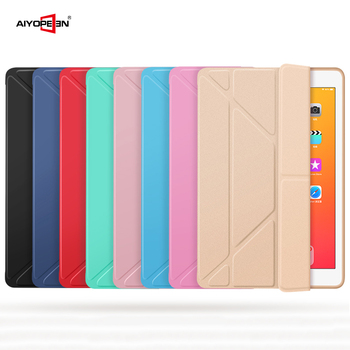 Case for iPad Air 2 1 Cover, PU Leather and Ultra Slim PC Back Smart Cover Magnetic Case for iPad air 2 A1566 A1567 Flip Stand for new ipad 2017 2018 case cartoon cute cat pu silicone soft back tablet cover for ipad air 1 air 2 flip smart stand case